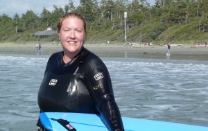 Surfing in Tofino!